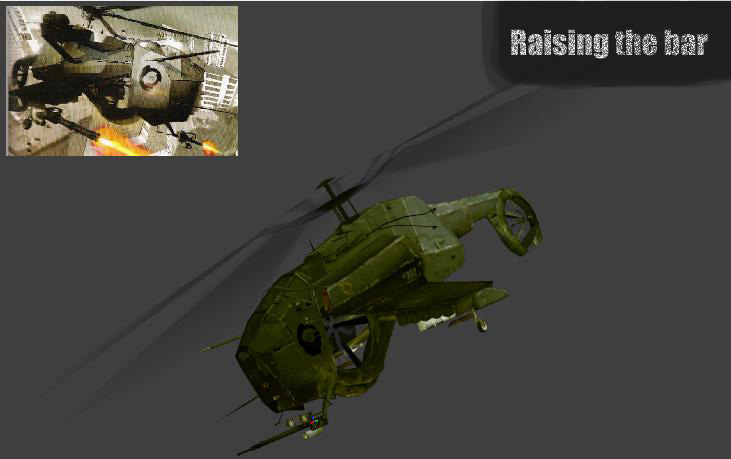 how to fix make heli copters in decimation
