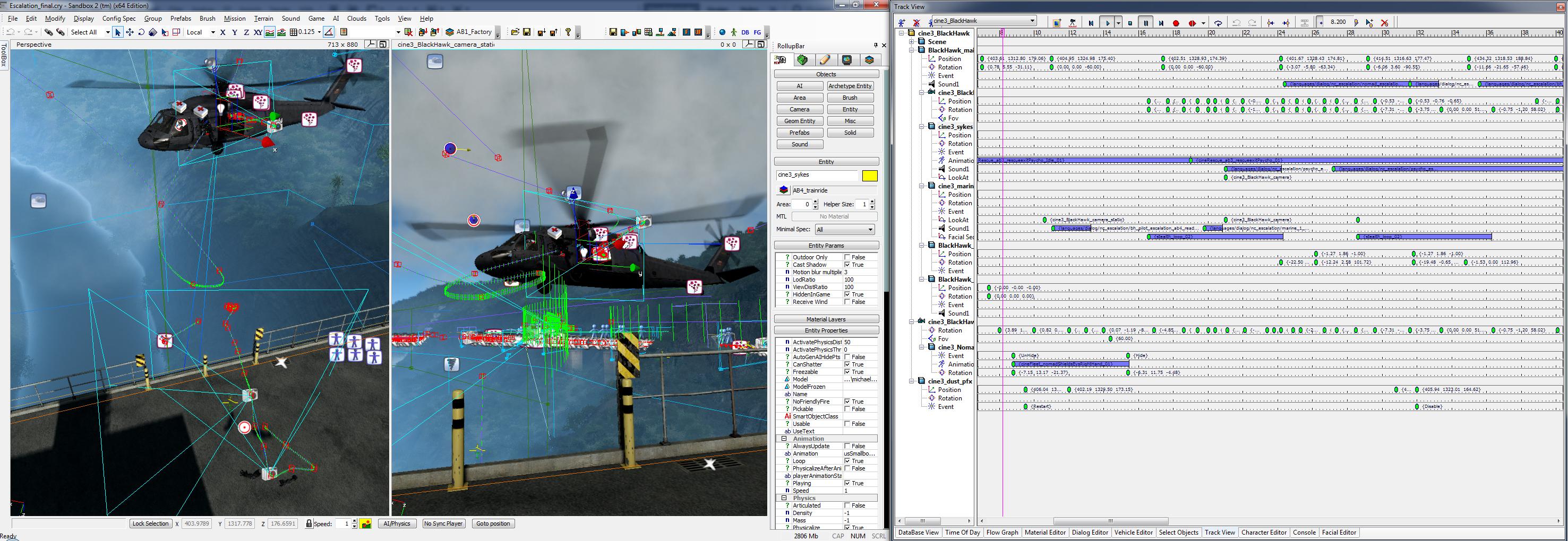 sandbox 2 screenshot trackview editor image nuclear cataclysm