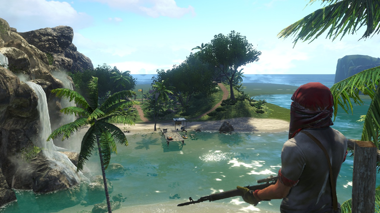 Enda en bane laget i Far Cry 3's map editor.