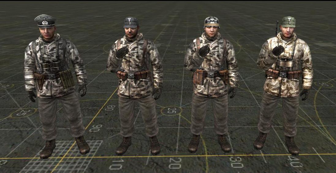 German soldiers mod
