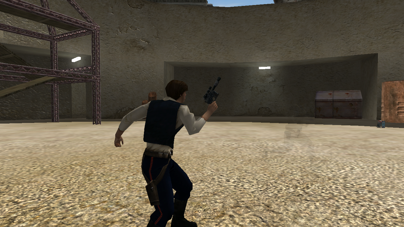Han Solo S Dl 44 Image Battlefront Evolved Mod For Star