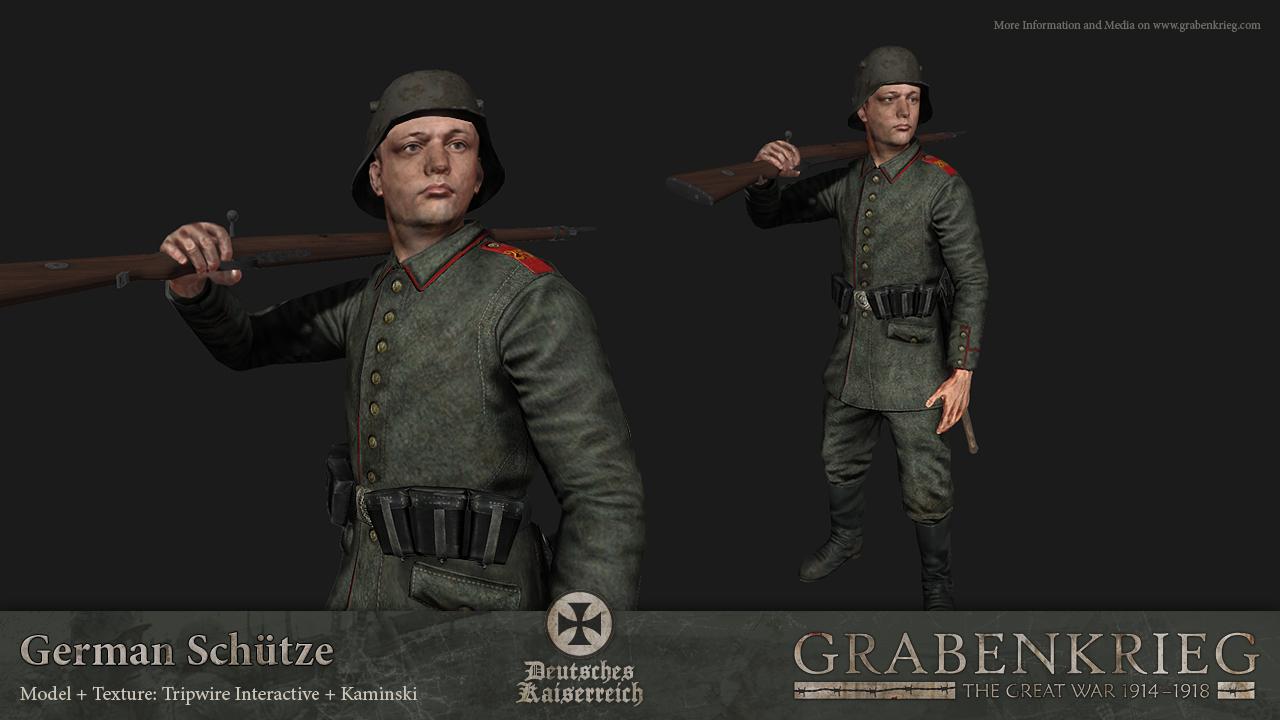 German Sch 252 Tze Image Grabenkrieg The Great War 1914