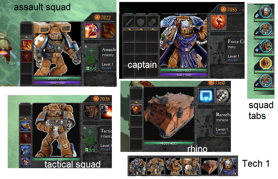 space marines new icons image apocalypse mod for dawn of war ii