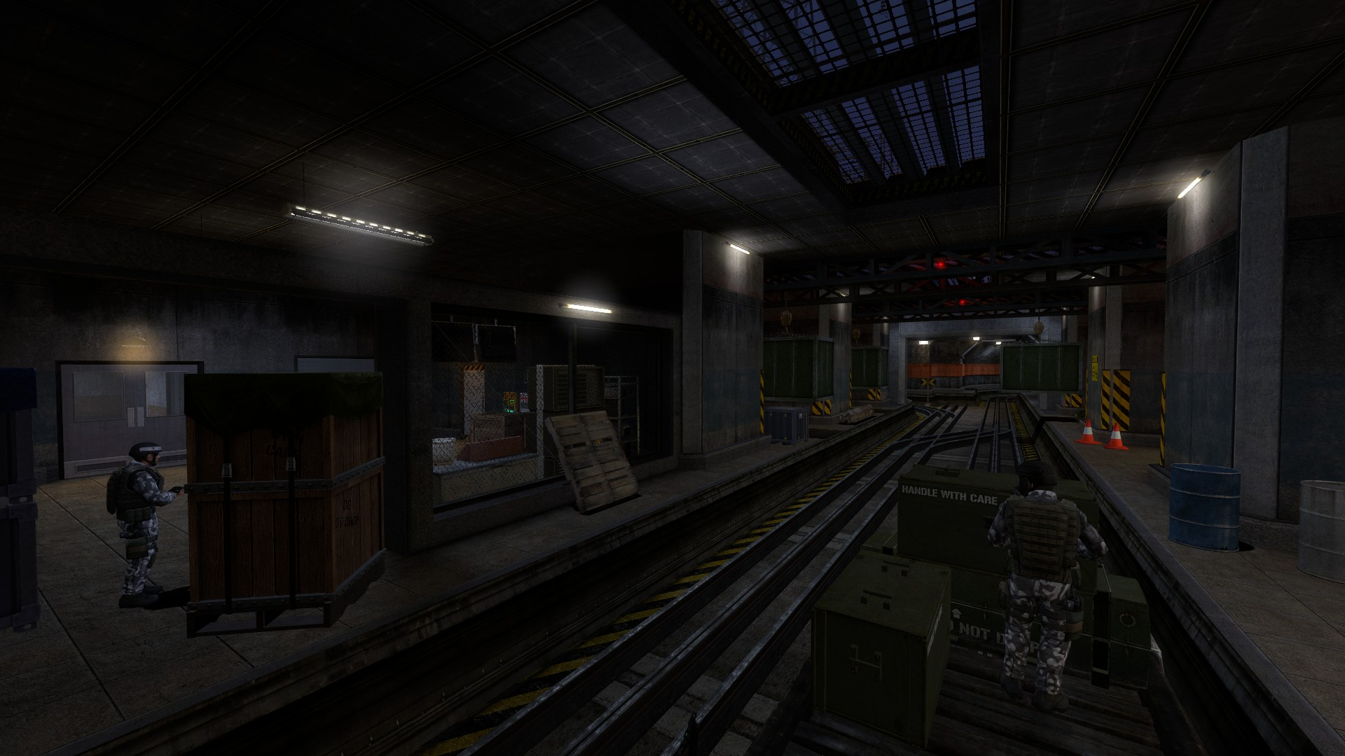 Black mesa on a rail uncut video