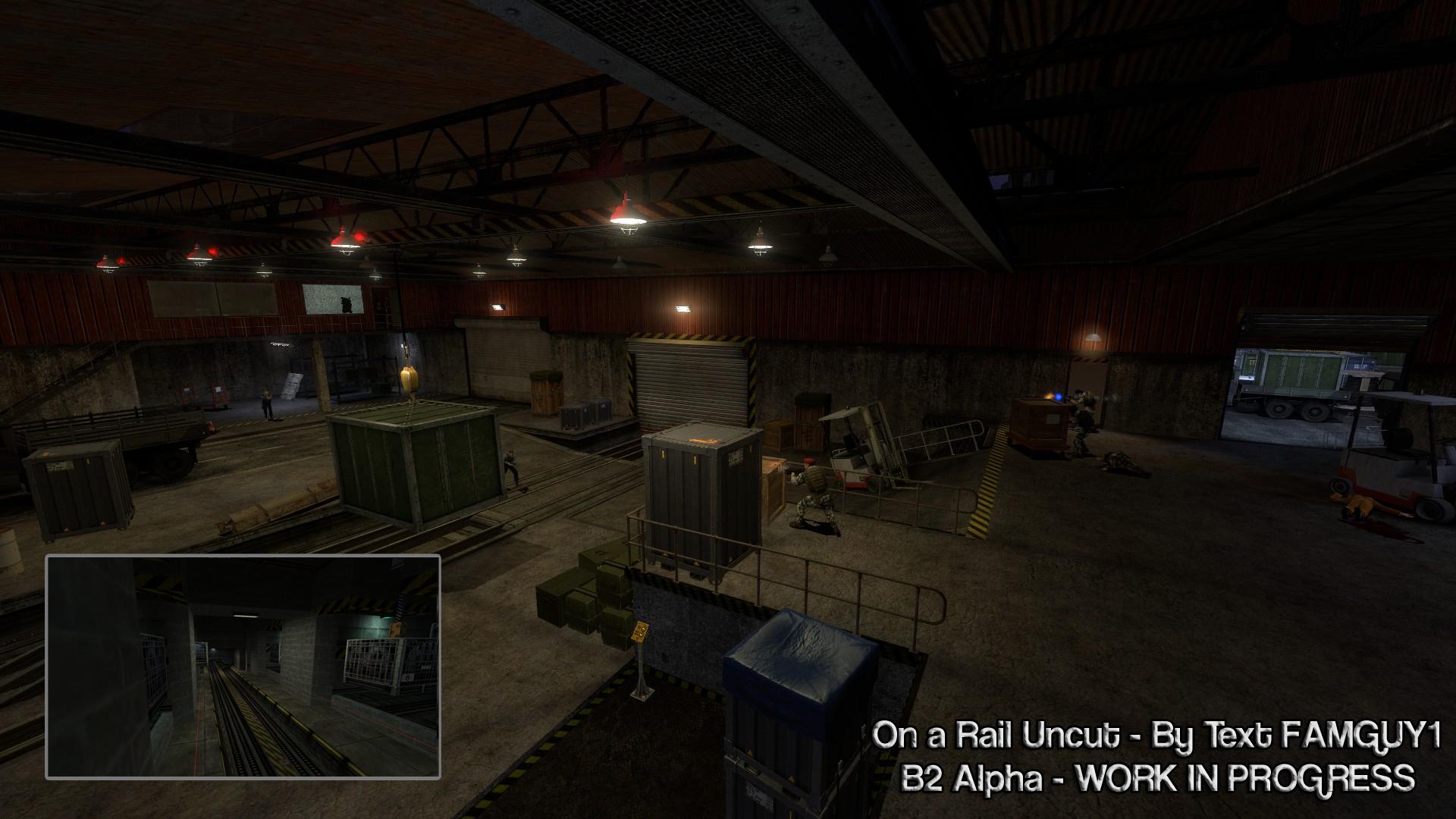 Black Mesa On A Rail Uncut