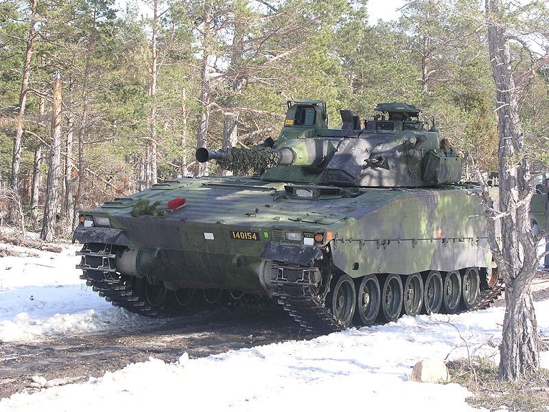 cv-90 apc image - battlefield  scandinavia mod for battlefield 2