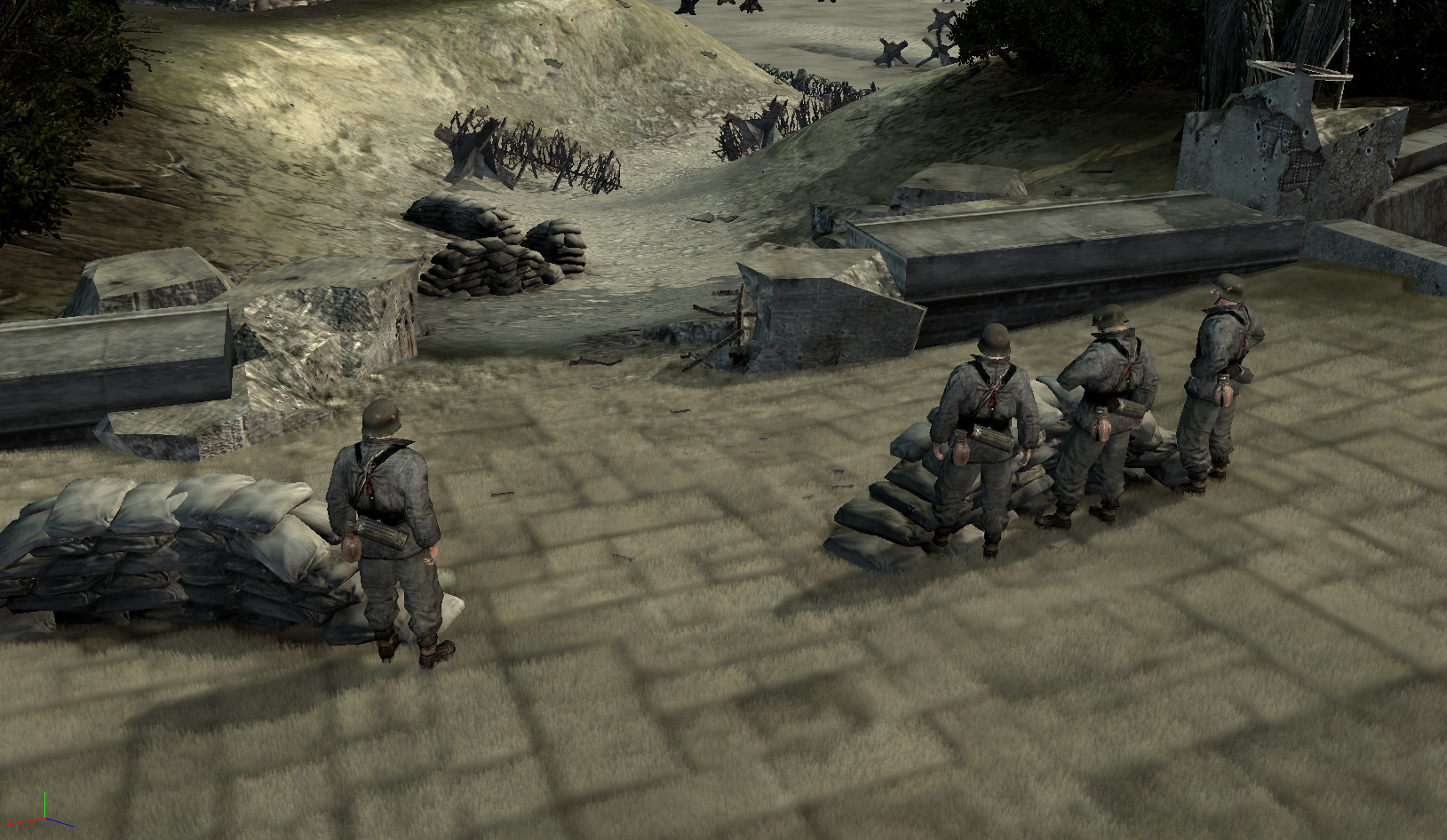 d day map fictional ish image company of heroes canada at war