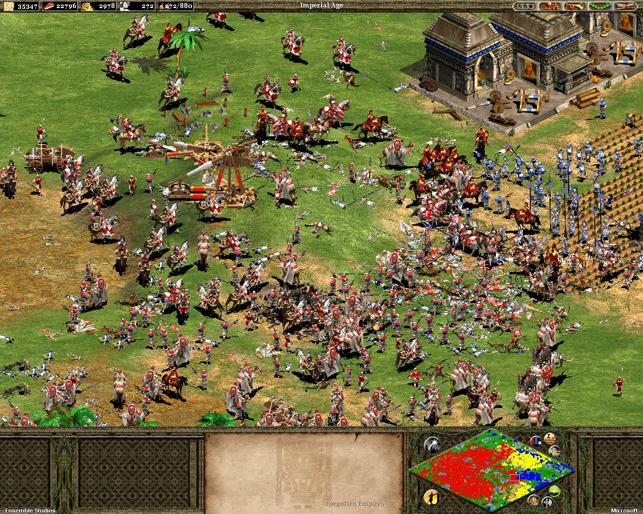 Age of Empires II: Forgotten Empires Trailer - YouTube