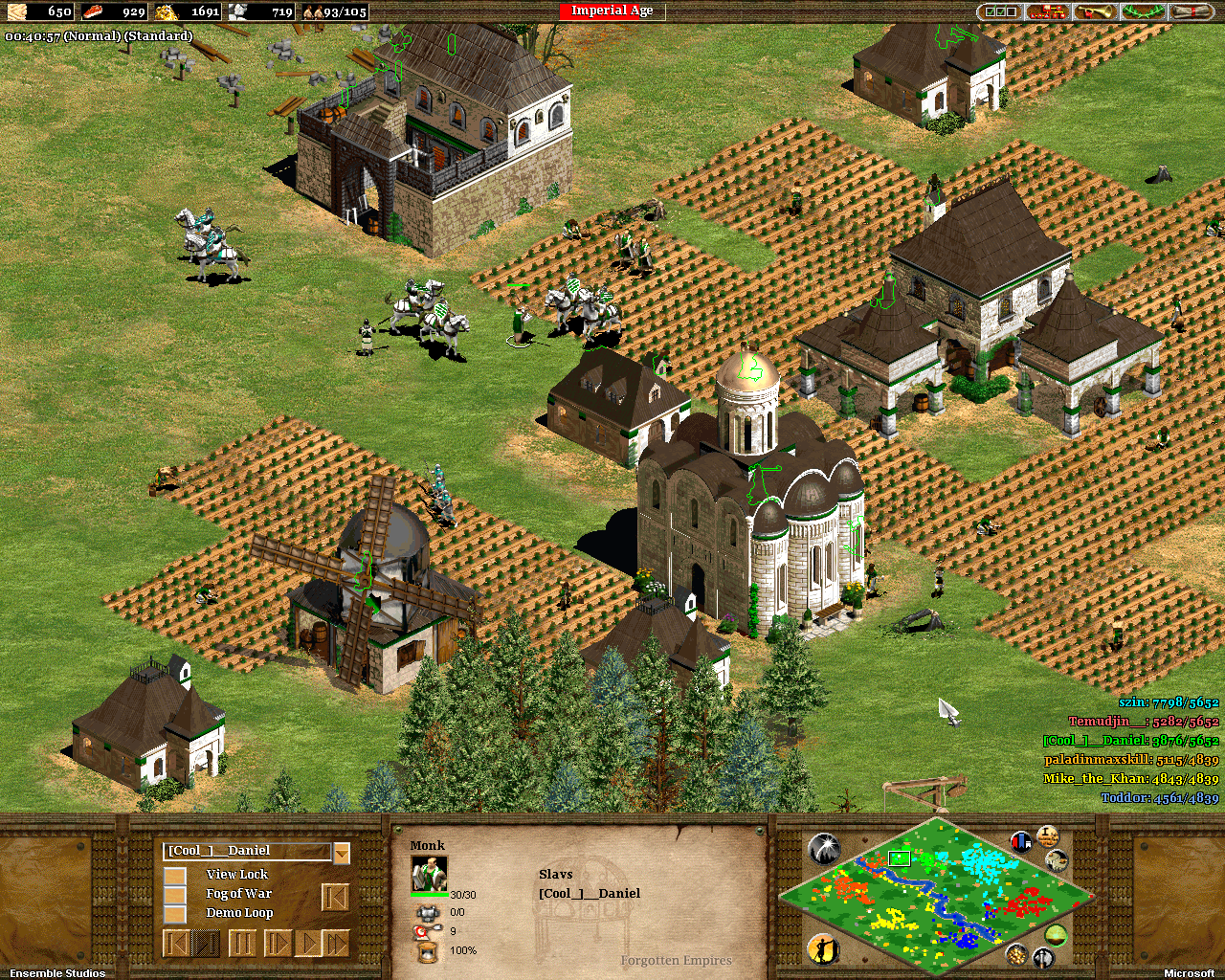 age of empires ii the forgotten