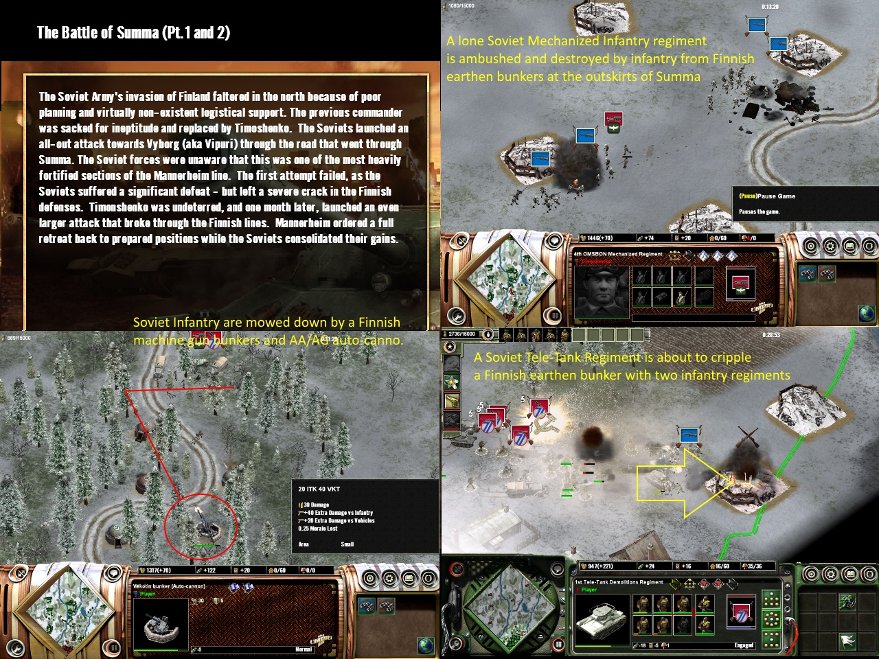 Battle of Summa image - Axis & Allies: Uncommon Valor mod for Axis