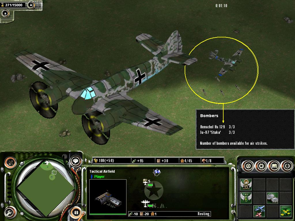 Henschel Hs 129 image - Axis & Allies: Uncommon Valor mod
