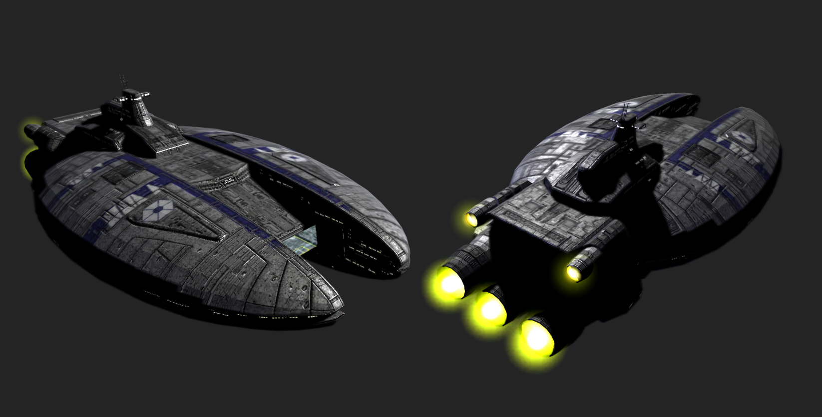 Megaton-class Sepertist Carrier image - Knights of the Old