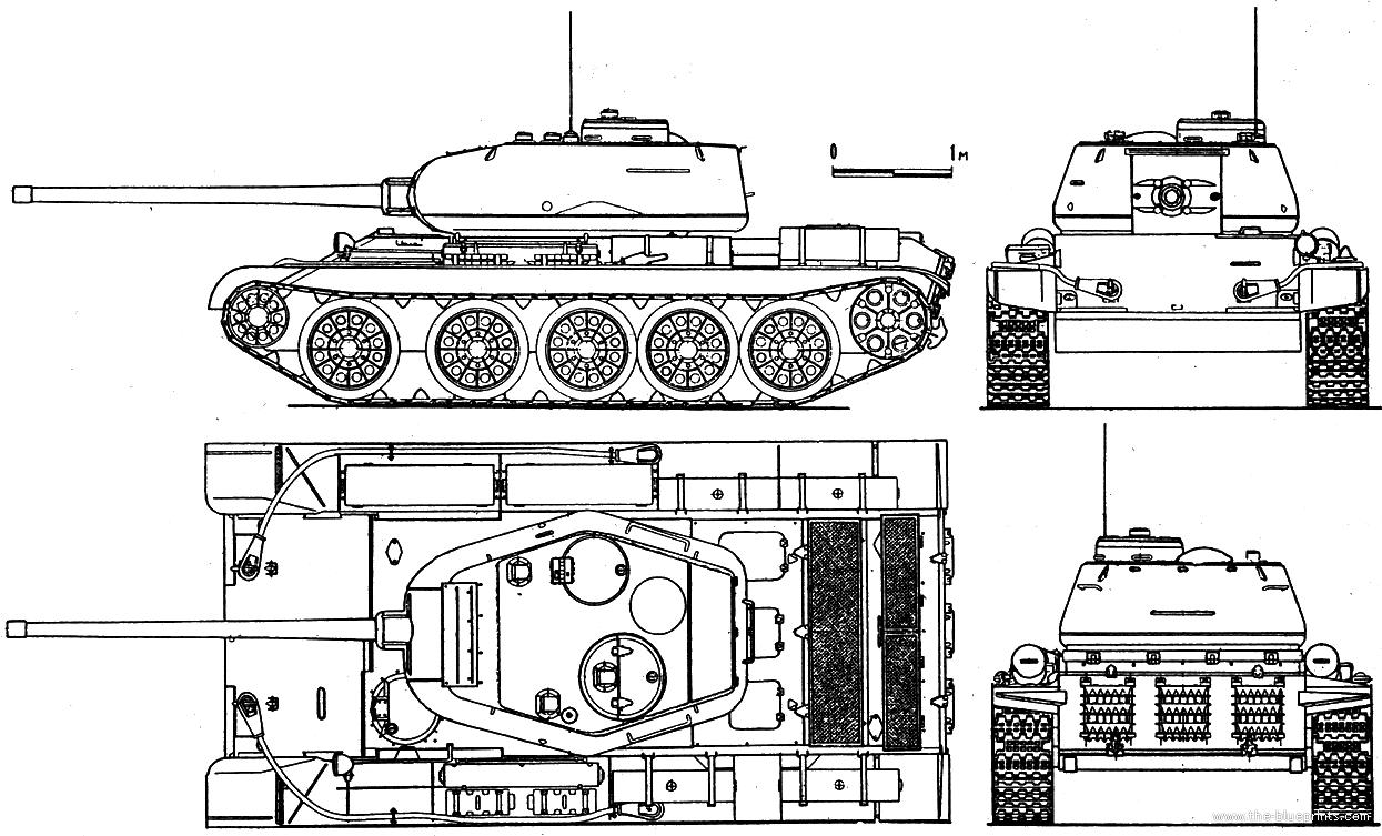 Как по фото танка сделать чертеж