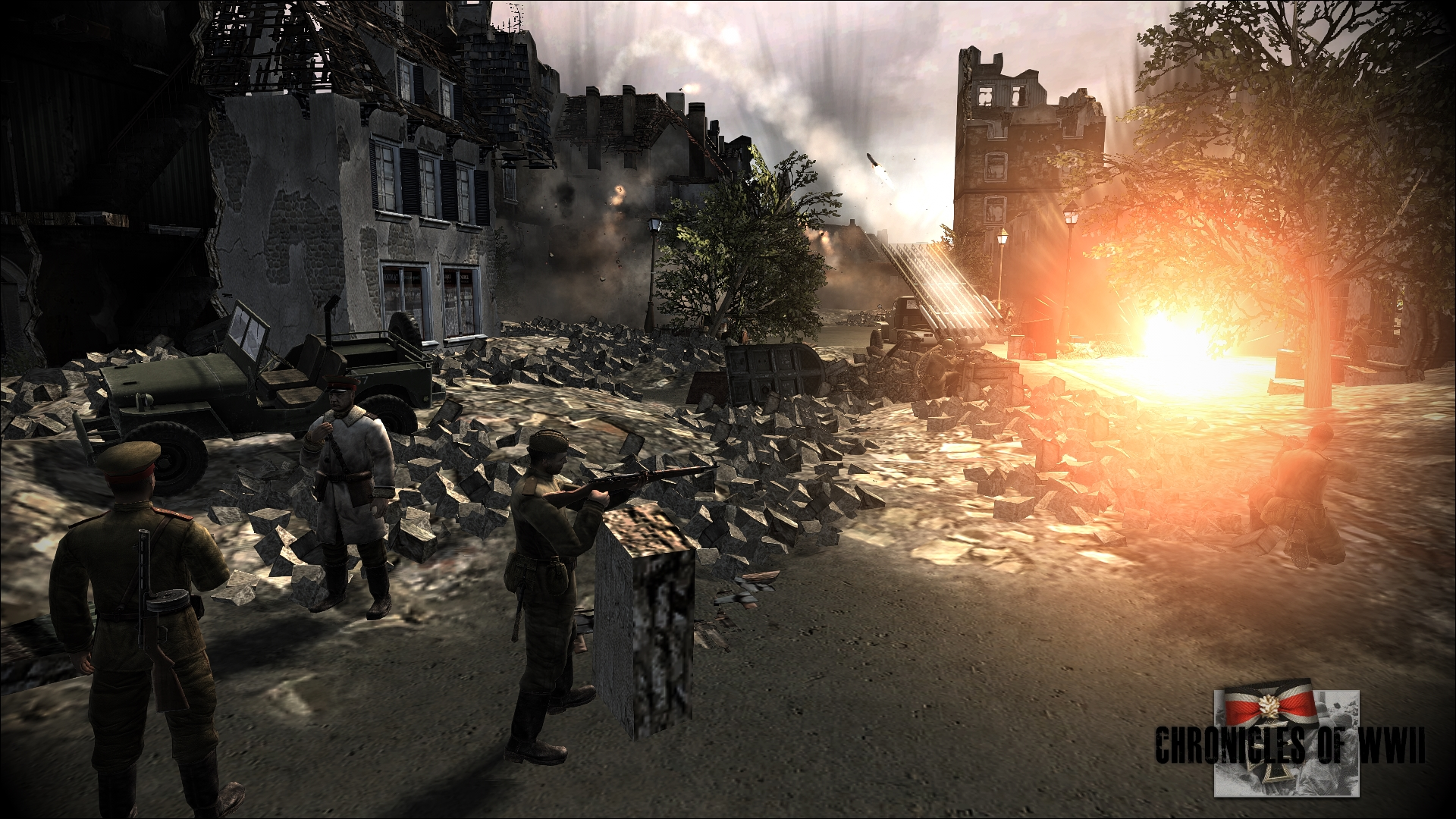 New Jeep Models >> Battle for Berlin image - WW2 Chronicles - A Total ...