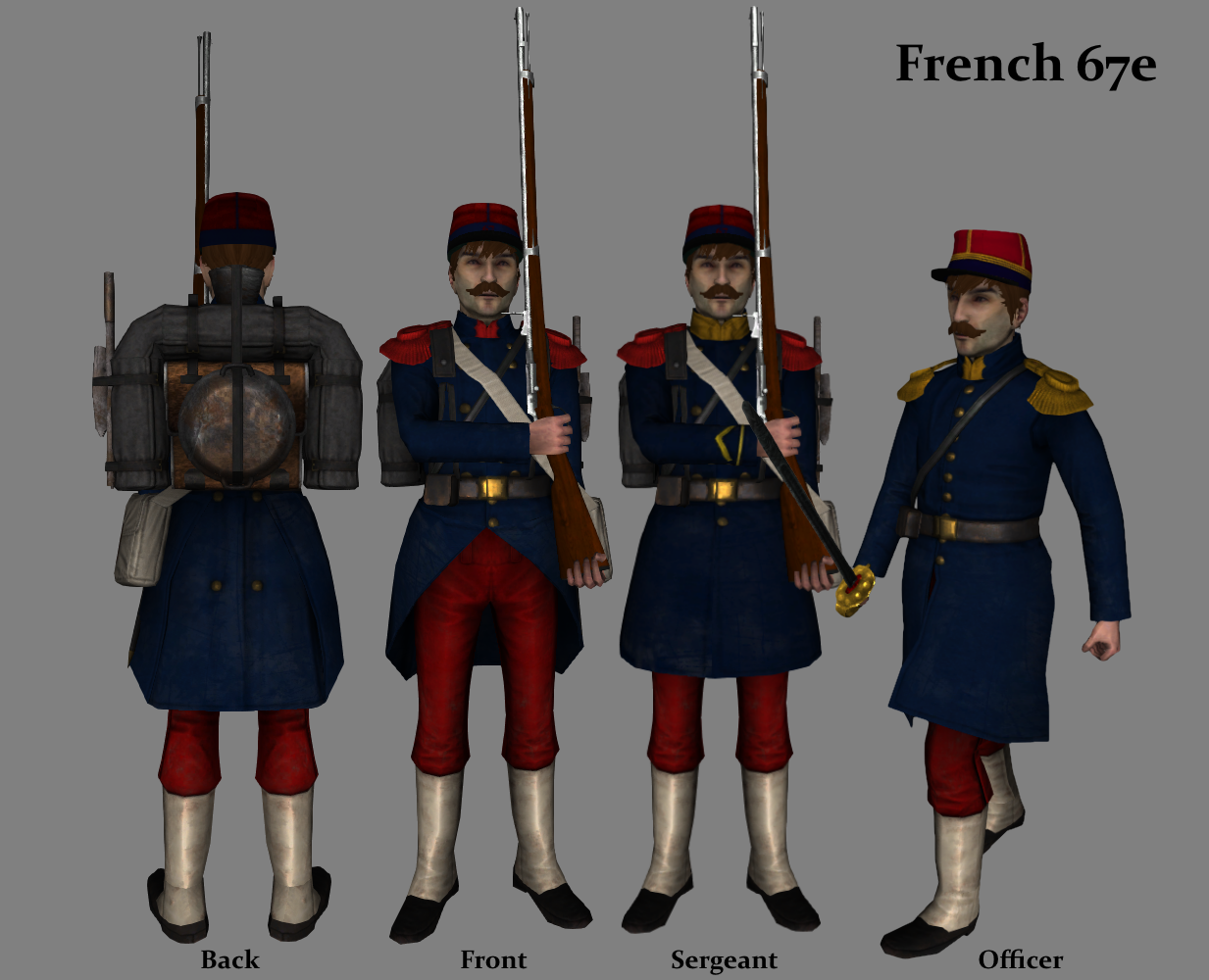 [MP][EN] Blood and Iron Age of Imperialism French_Infantry
