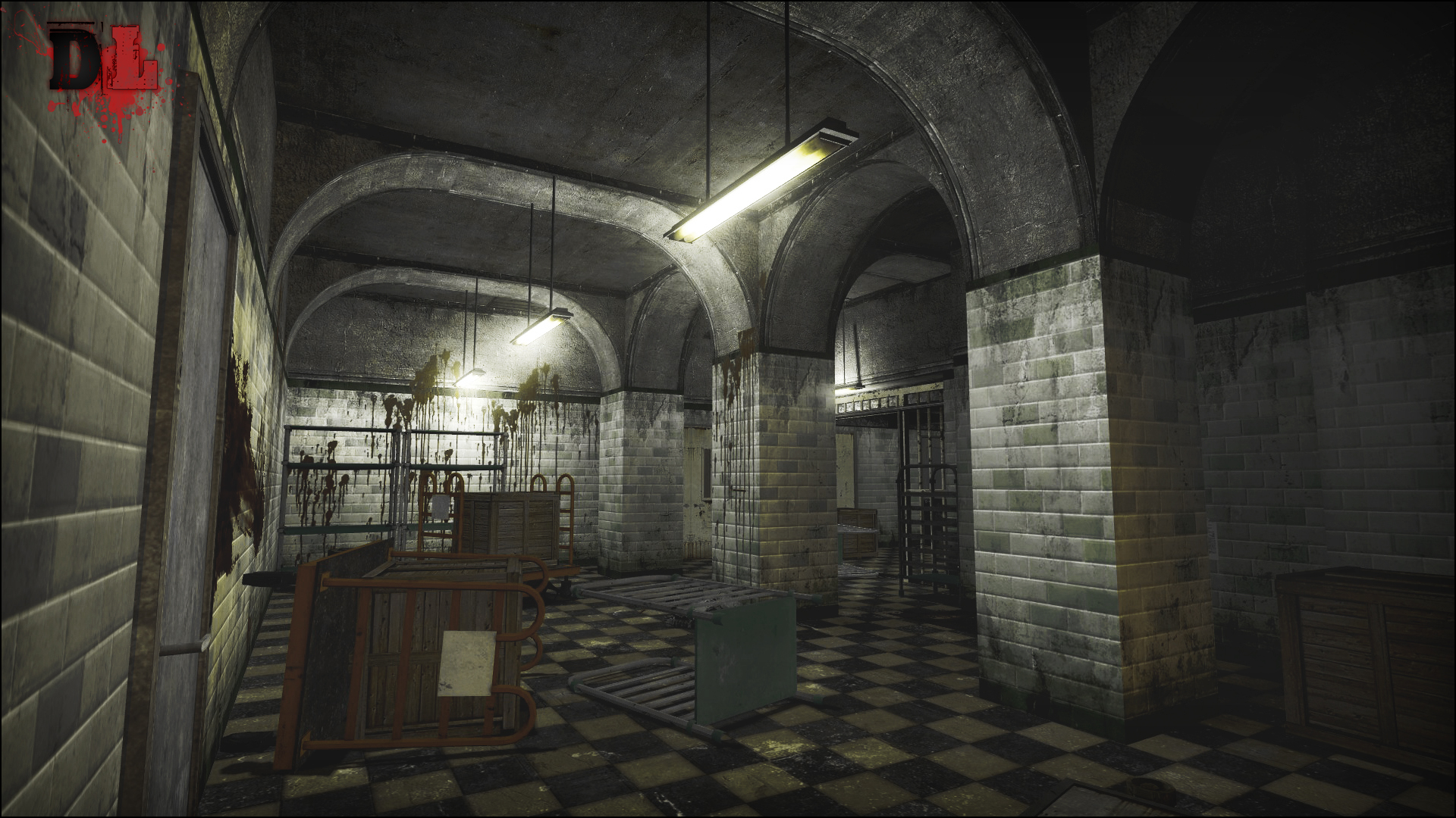 Map image dead lab mod for half life 2 episode two mod db for Half life 2 architecture