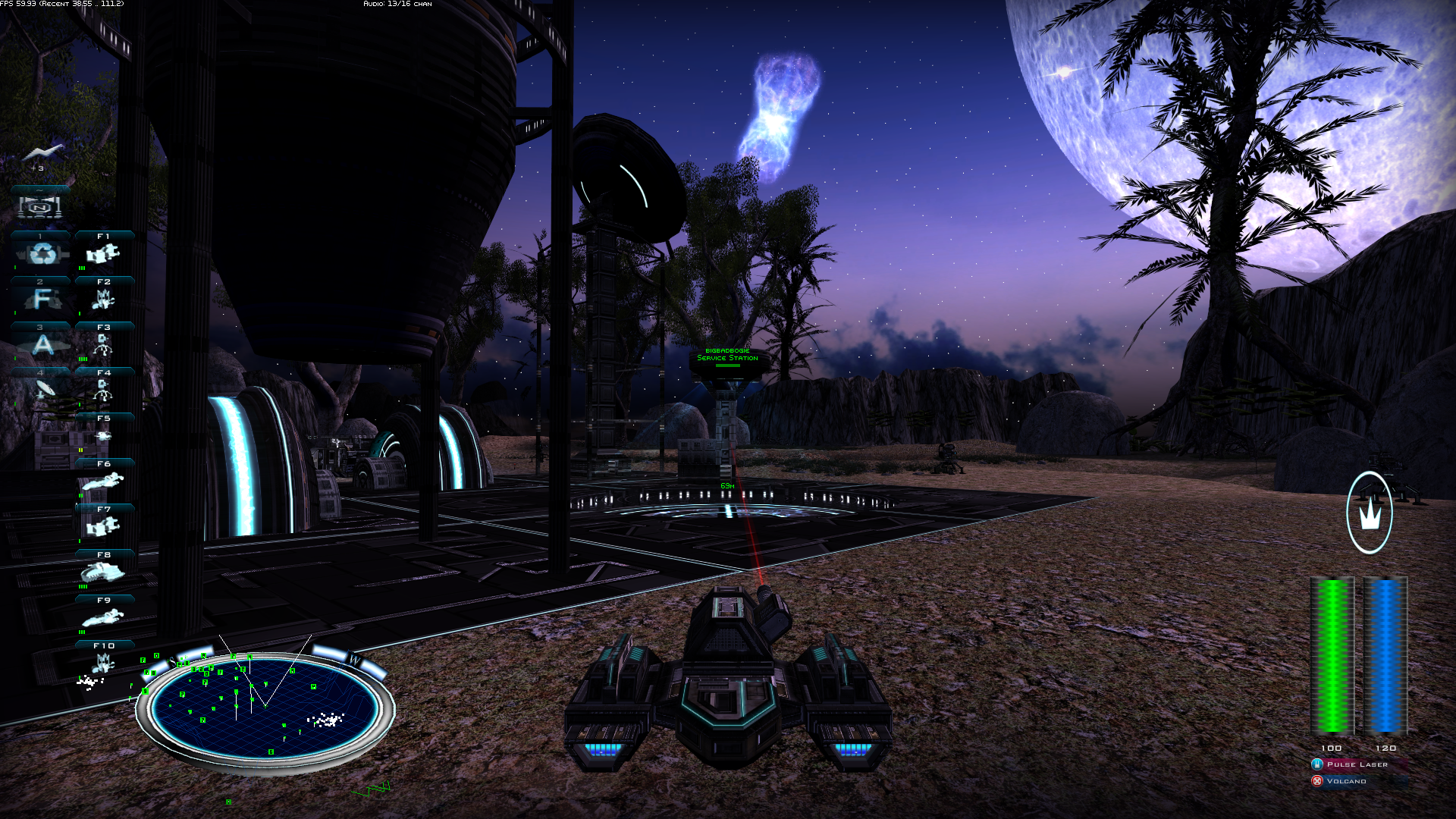 Night time on akaifa image qf2 essence to a thief for Battlezone 2