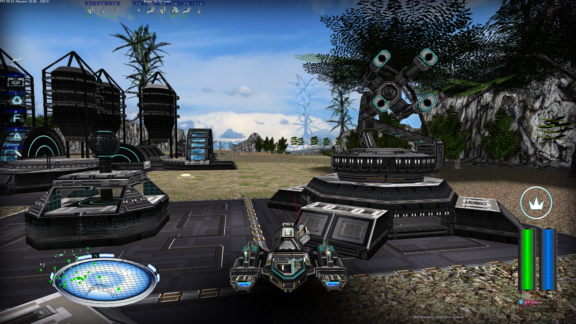 Defence battery scar tank image qf2 essence to a for Battlezone 2