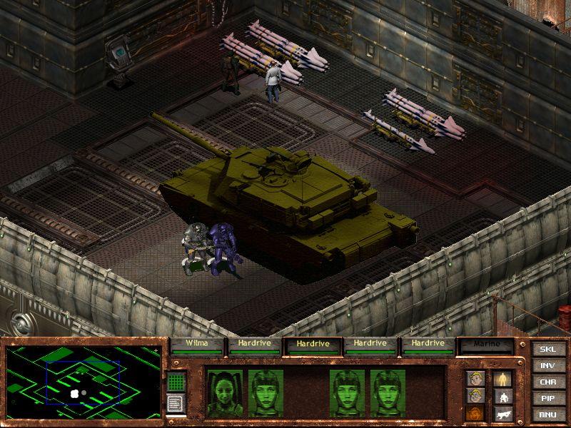 Old Abrams Tank