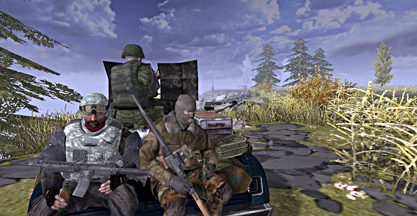 View the Mod DB Soldiers of Anarchy Mod for Men of War image Survivors.