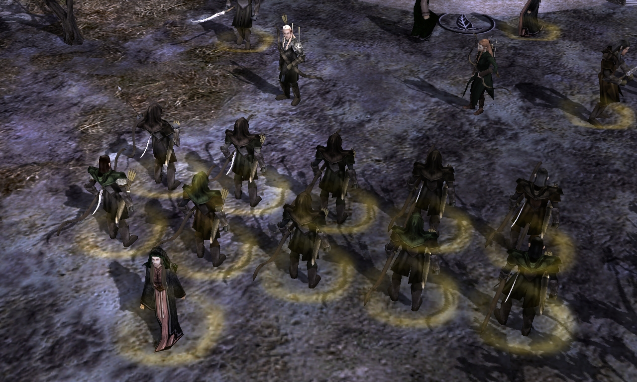 age of the ring mod for battle for middleearth ii rise - HD 1280×768