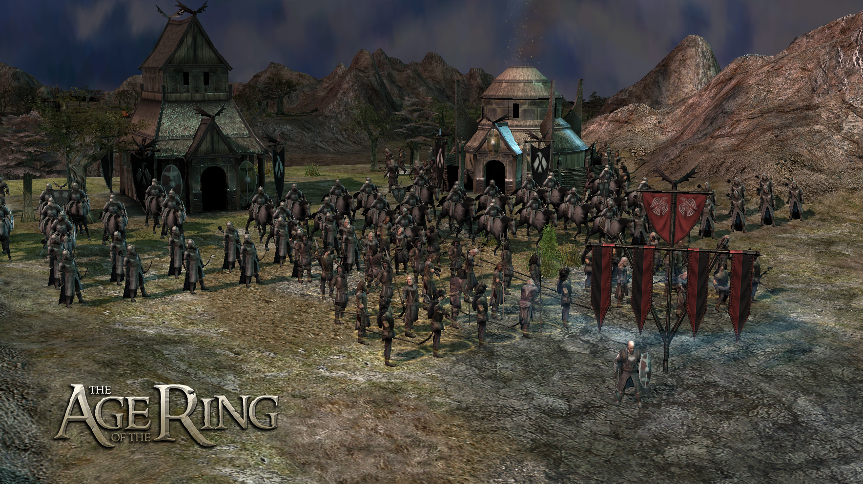 age of the ring mod for battle for middleearth ii rise - HD 1768×992