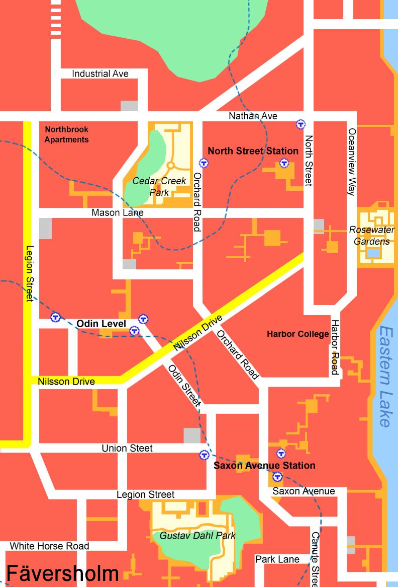 Harbor College Map Map Of Orange County California