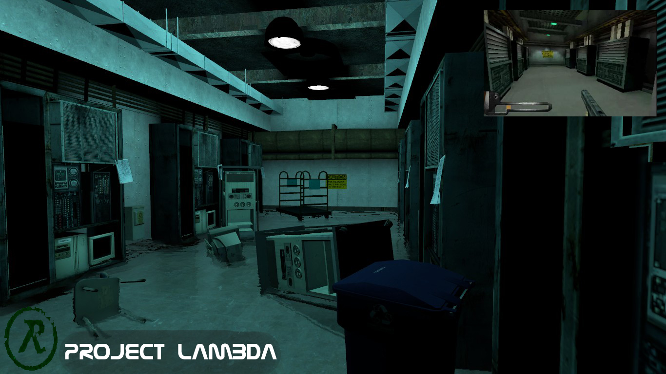 Project Lambda mod for Half-Life 2 - Mod DB | 1366 x 768
