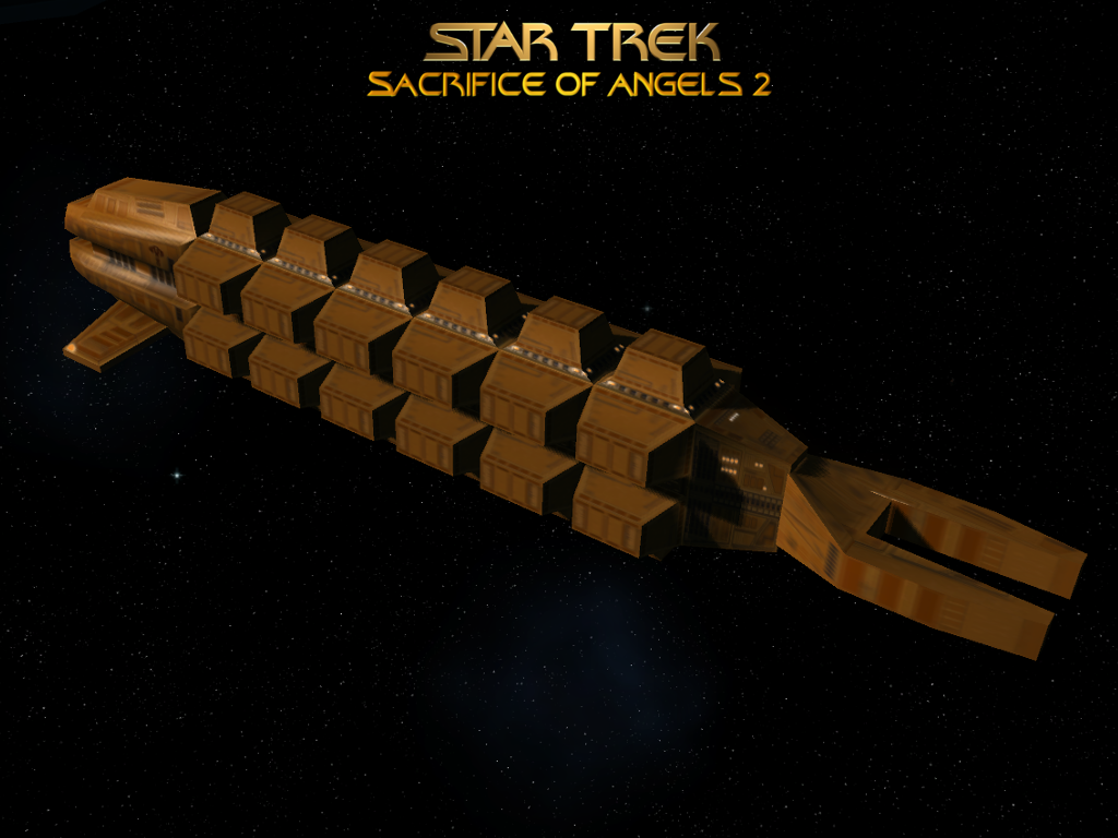 Cardassian Freighter Image Star Trek Sacrifice Of