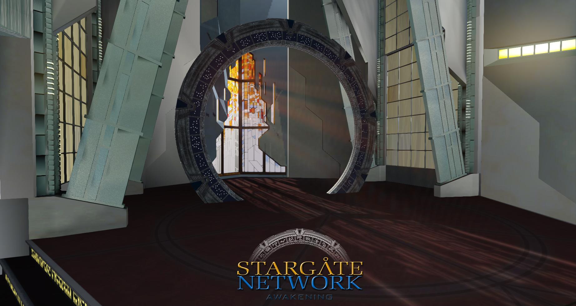 Atlantis Gate Room Image Stargate Network Awakening Mod