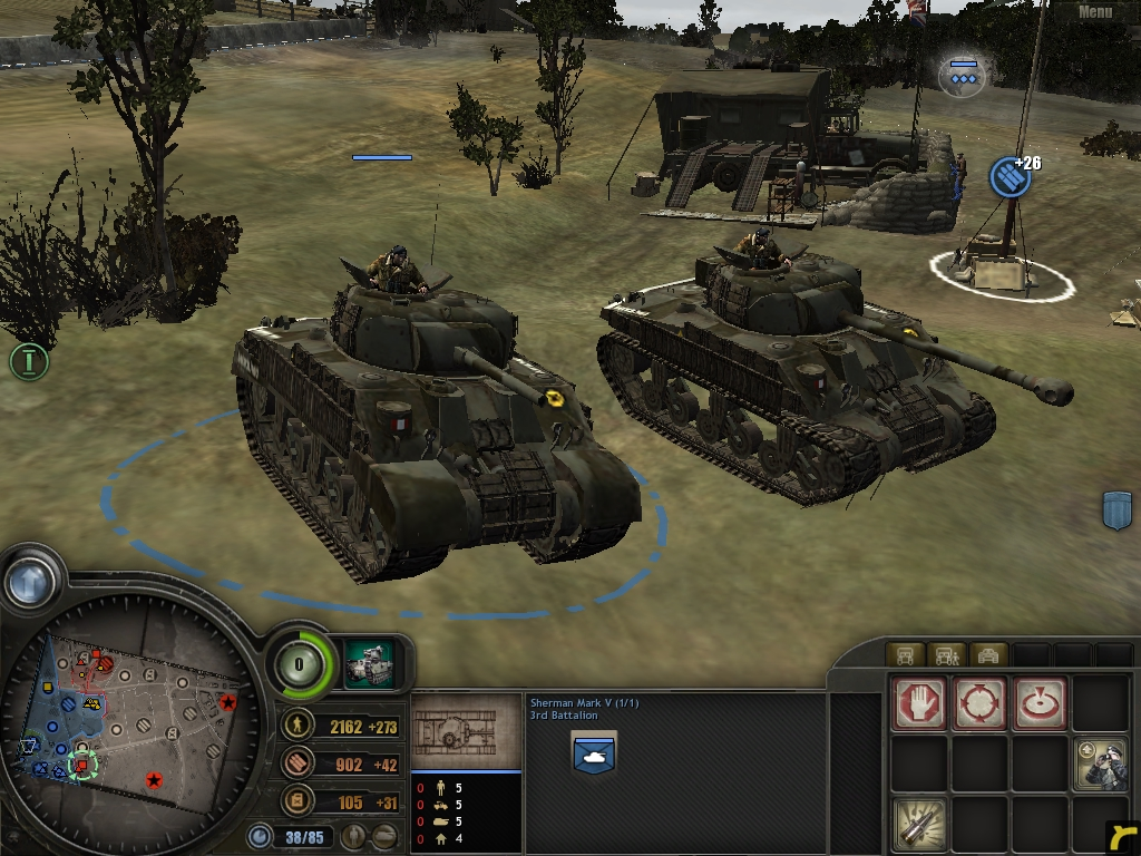 british shermans and variants image - Company of heroes