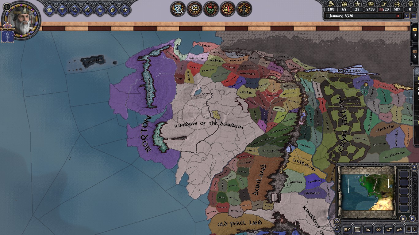 How To Play CK2 - Middle Earth Project Mod - YouTube