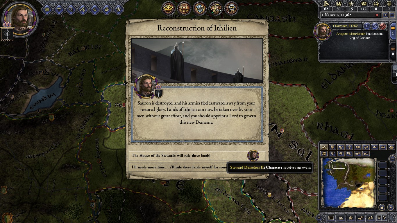 CK2: Middle Earth Project (CK2:MEP) mod for Crusader Kings