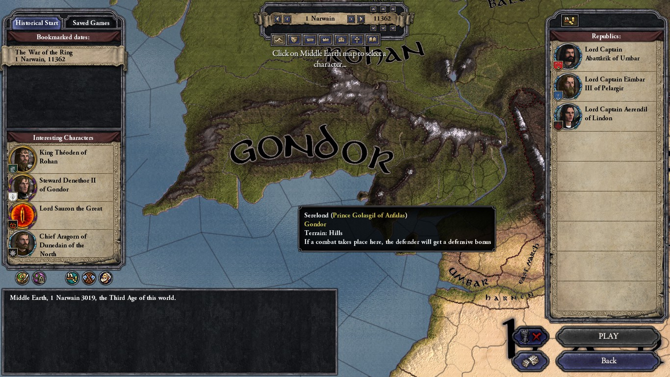 Ck2 middle earth project ck2mep mod for crusader kings ii mod db some screenshots sciox Gallery
