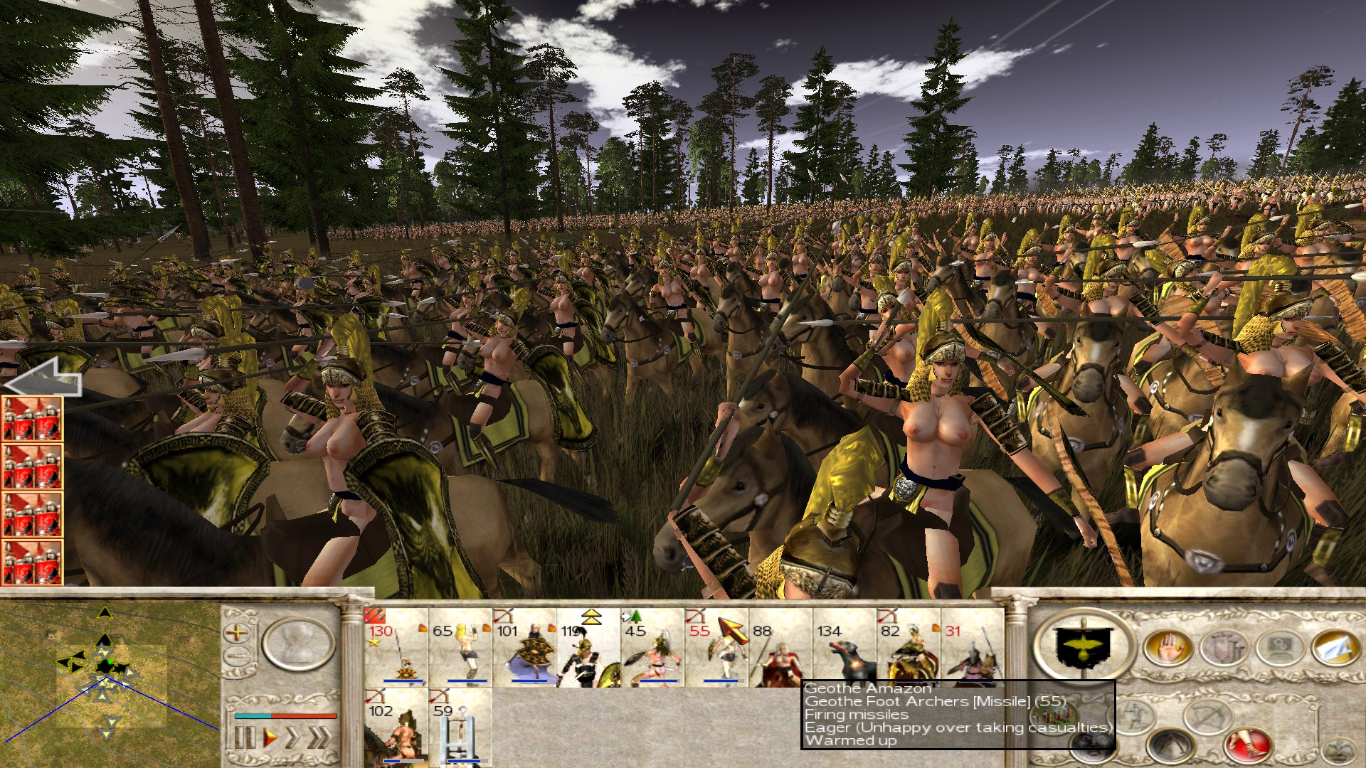 Rome total war nude mods hentai vids