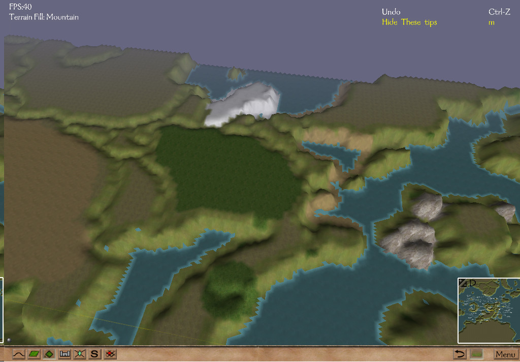 how to open map in mount and blade