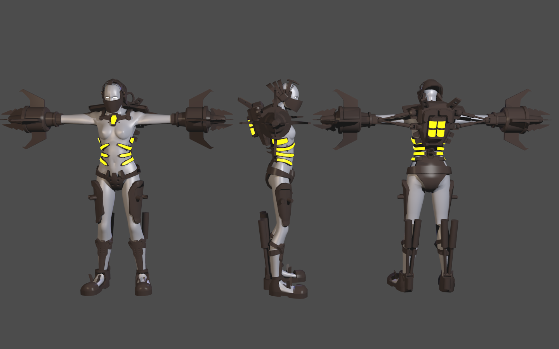 Concept Development Image Female Fleshpound Mod For