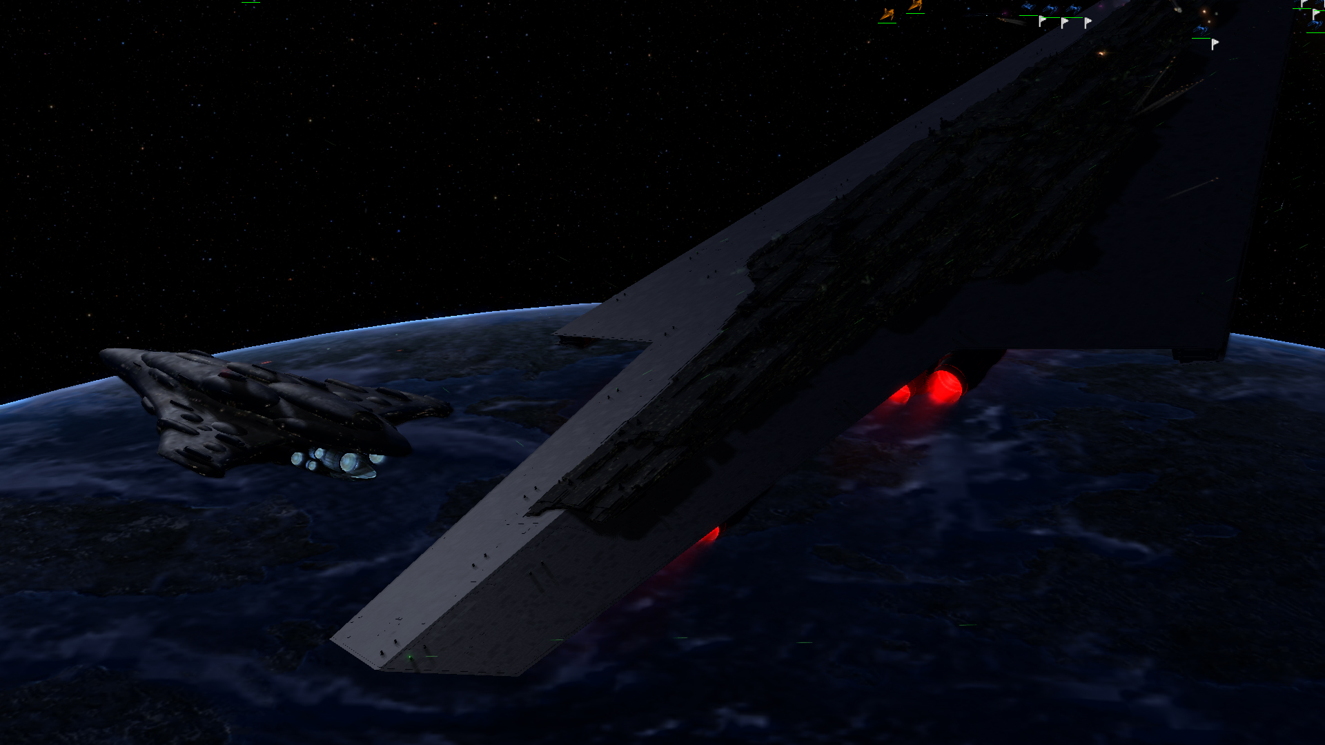 Sometimes The Executor Spawns Very Low Image Empire At War Remake Galactic Civil War Mod For Star Wars Empire At War Forces Of Corruption Mod Db