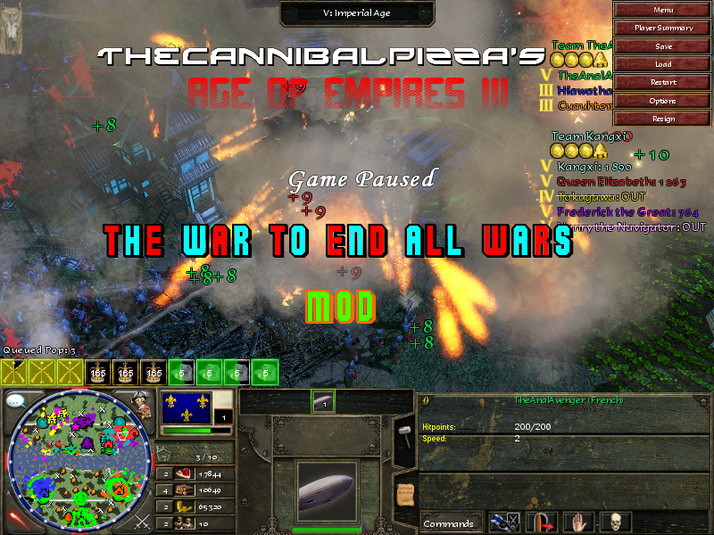 The War to End All Wars Mod - Canceled for Age of Empires III - Mod DB