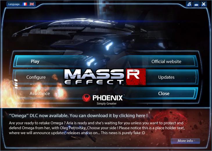 Mass Effect Reborn, current state of the mod LauncherMER