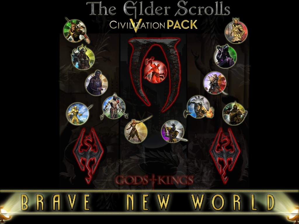 The Elder Scrolls Civilization V Pack (BNW) mod - Mod DB