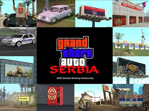 Gta Serbia Gta Srbija Mod For Grand Theft Auto San
