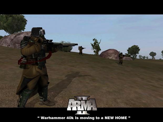 Warhammer 40k Arma 3 Mod