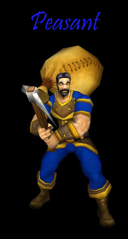 Warcraft 2 Peasant