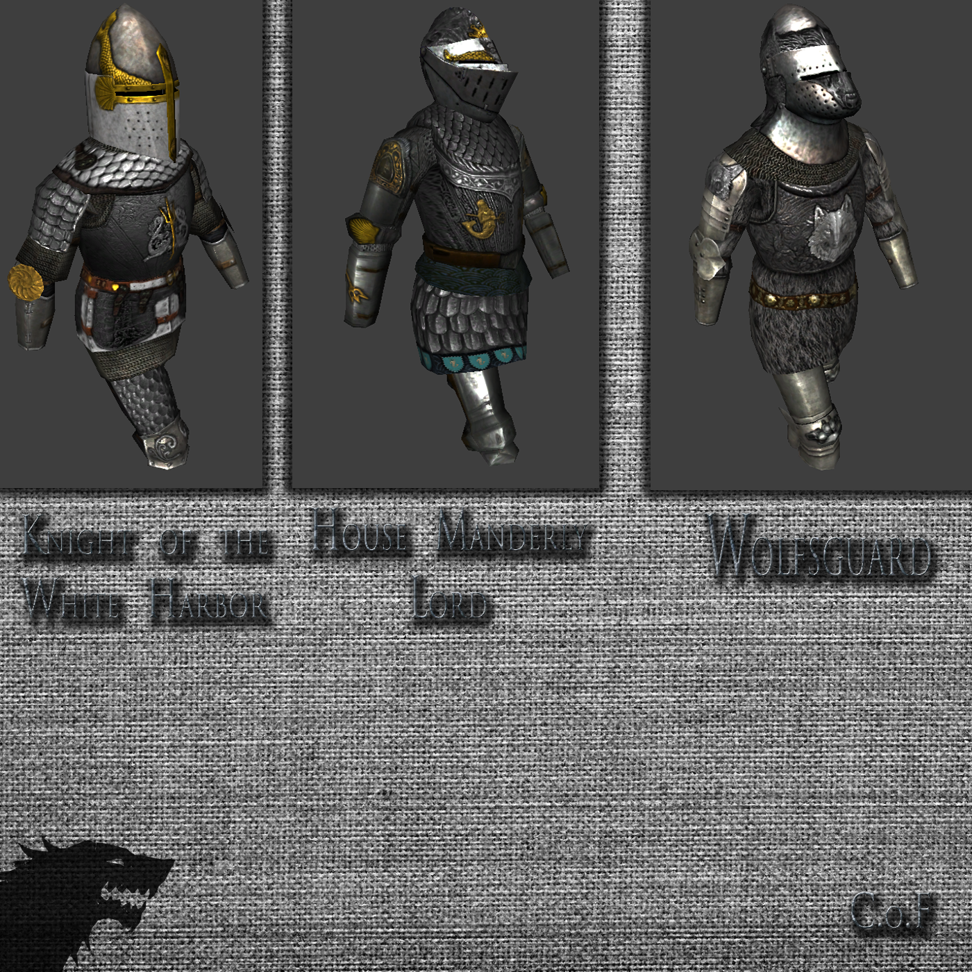 Armor - House Manderly + House Stark image - A Game of ...