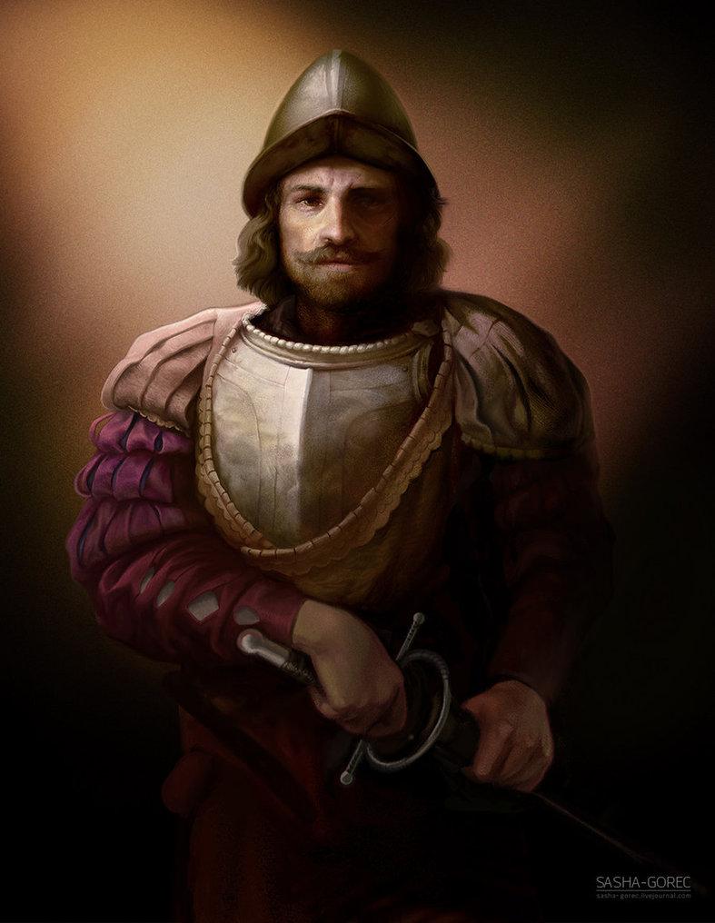 Famous Conquistador Painting