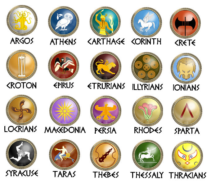 Faction symbols image - Hegemonia City States mod for Rome ...
