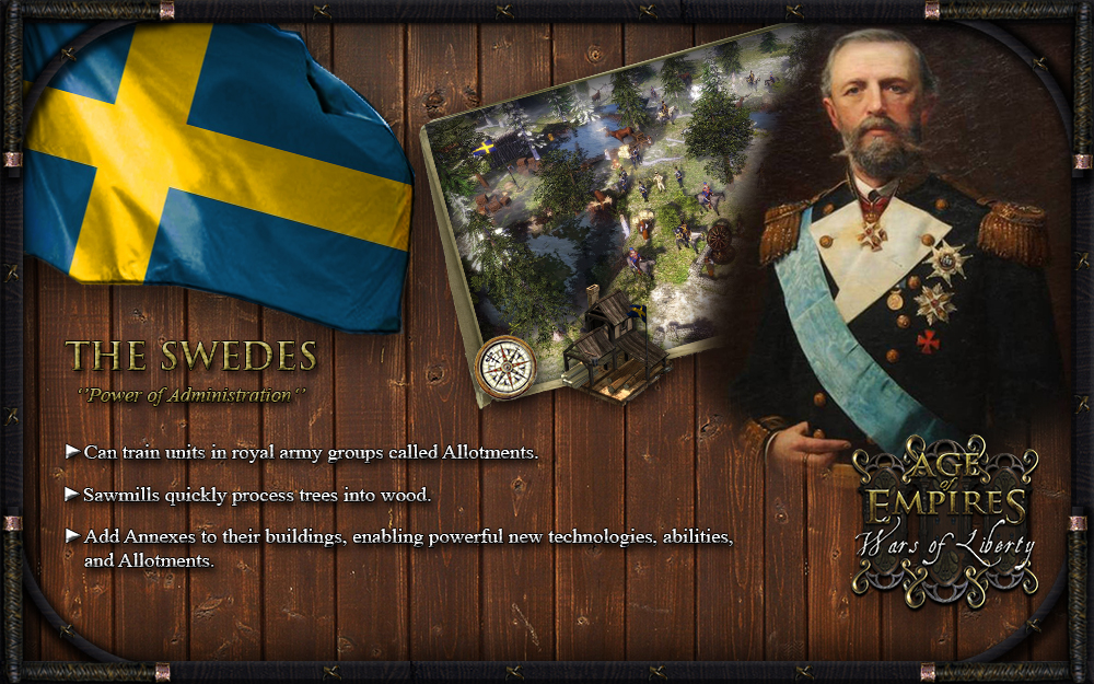 Sweden Overview image - Age of Empires III: Wars of Liberty