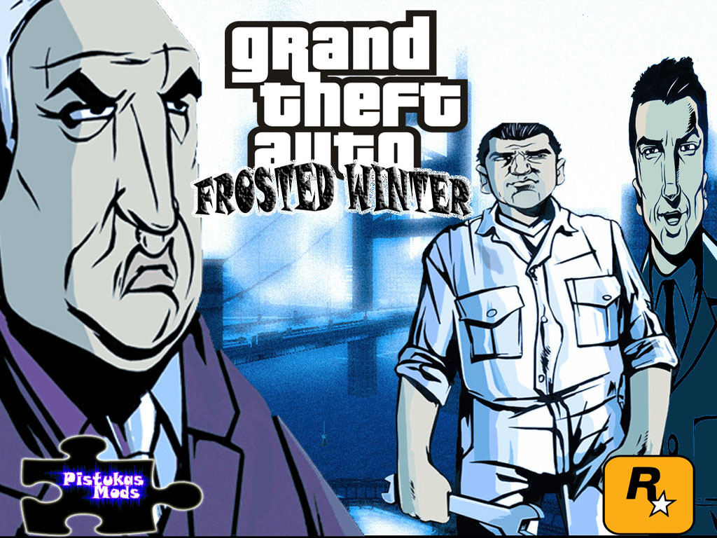 Gta frosted winter: ultimate winter mod (english version) for gta 3.