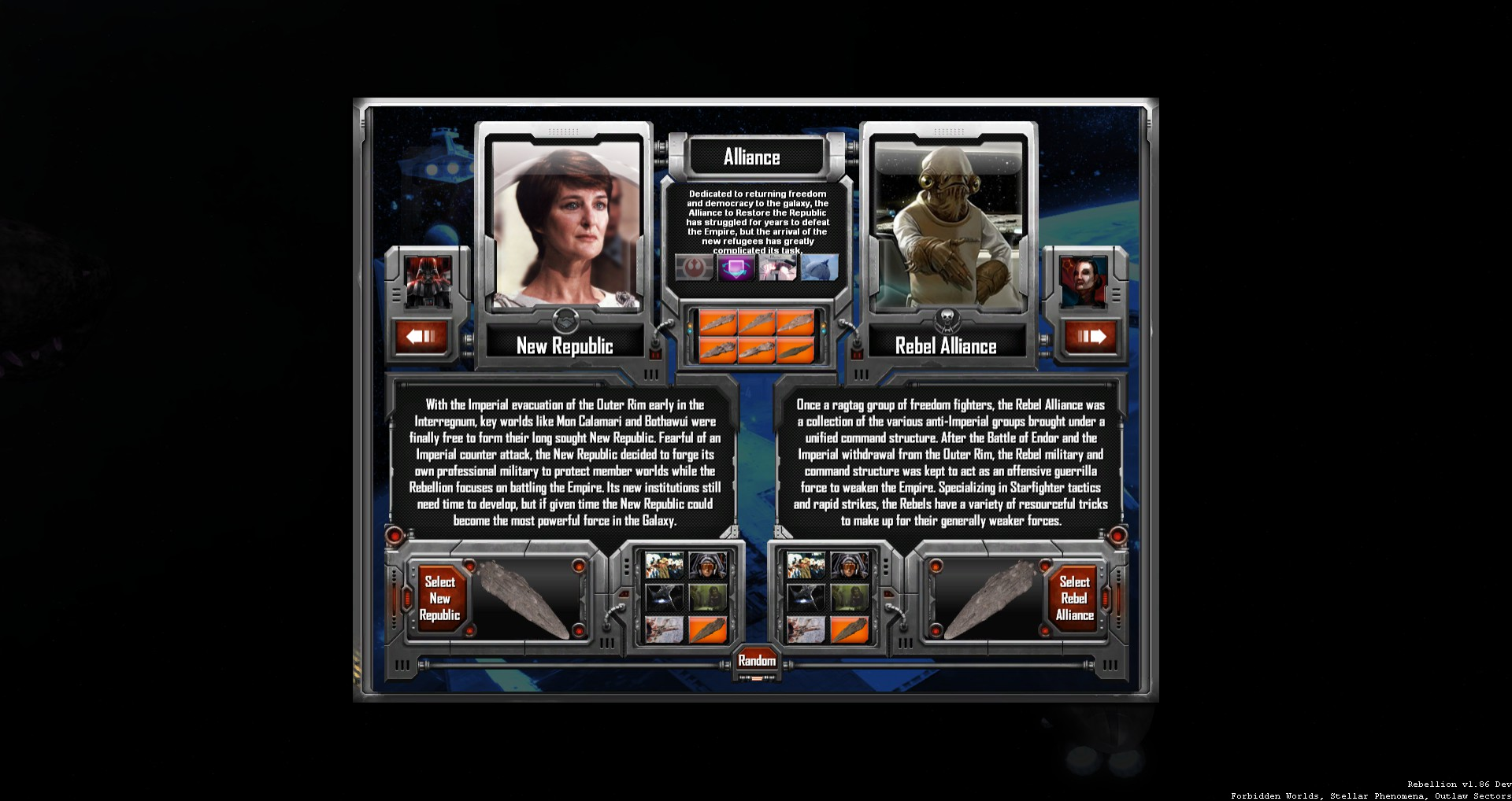 sins of a solar empire rebellion factions